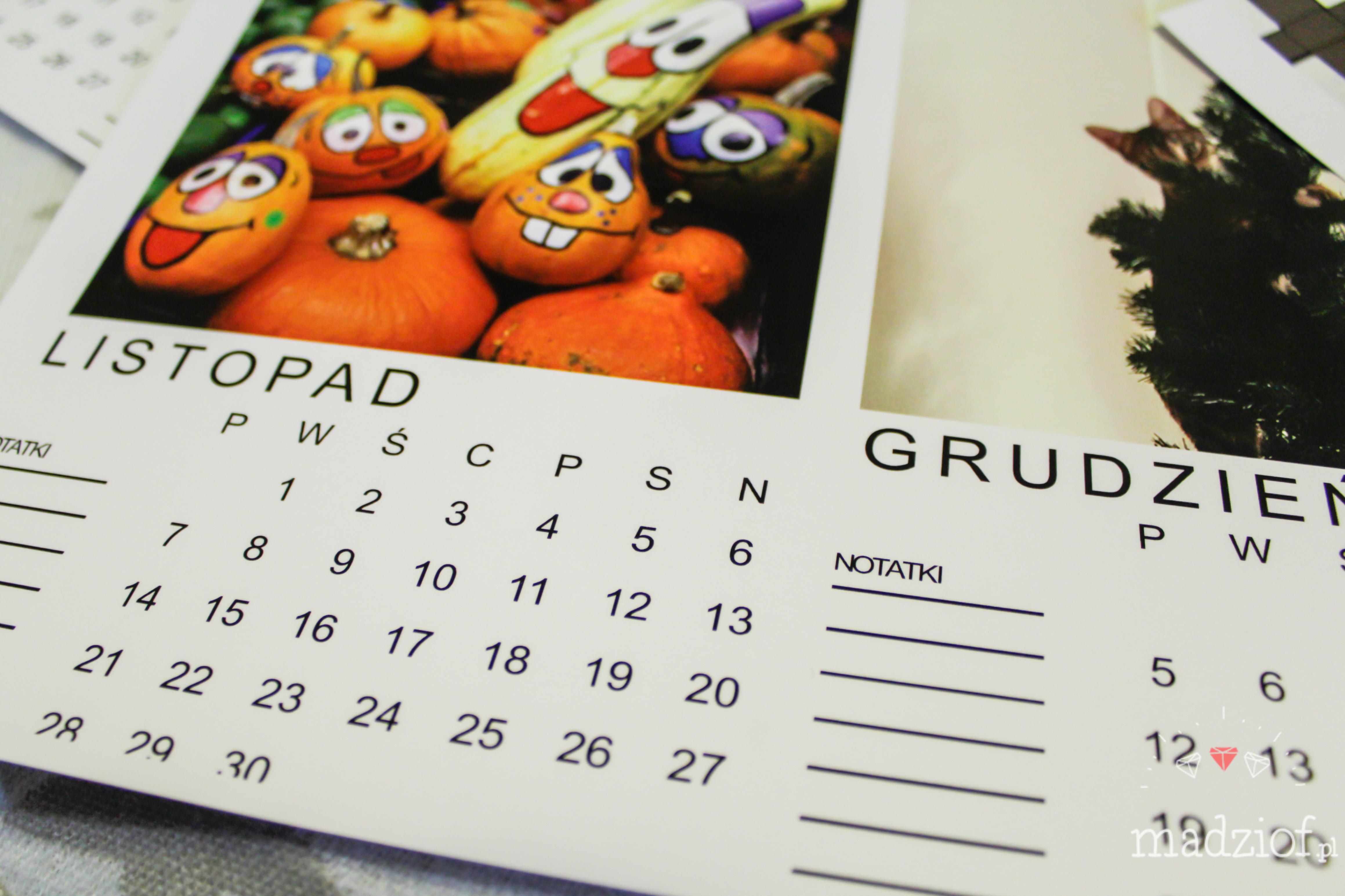 Darmowe kalendarze na 2016 rok do pobrania i wydrukowania zdjecia