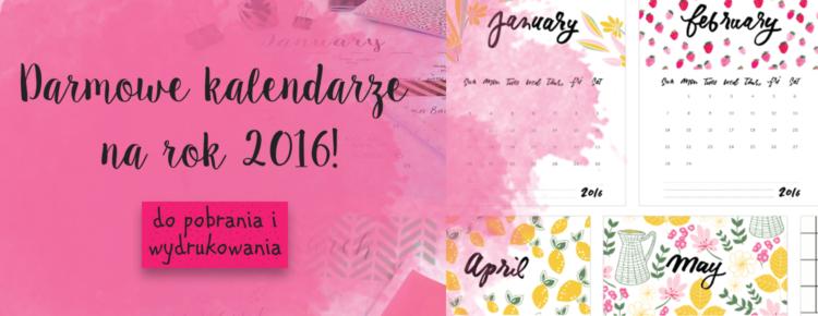darmowe kalendarze do pobrania i wydrukowania glowne