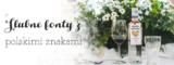 Ślubne fonty idealne na zaproszenia, z polskimi znakami.