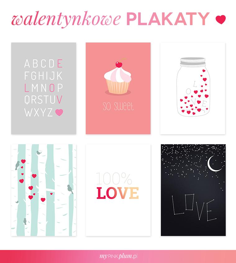 Darmowe Walentynkowe Grafiki Do Pobrania I Wydrukowania Madziof Pl