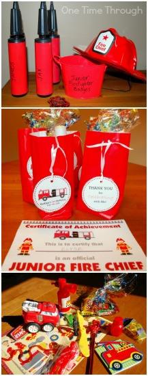 Pomysły na tematy przewodnie urodzin dla chłopca straż pożarna