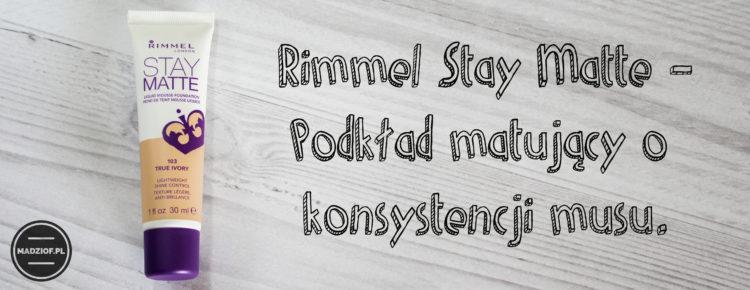 Rimmel stay matte podkład(1)