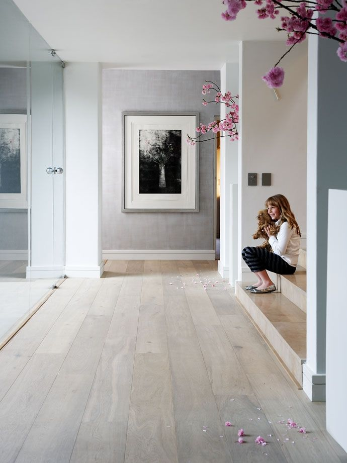 Wall Colors With Light Oak Floors : BiaLa podLoga w mieszkaniu - Inspiracje. - Madziof .pl