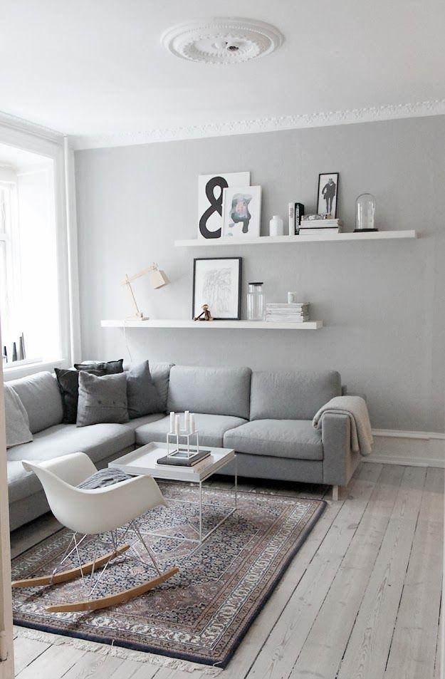 Bia a pod oga w mieszkaniu inspiracje madziof pl - Salon decoratie ideeen ...