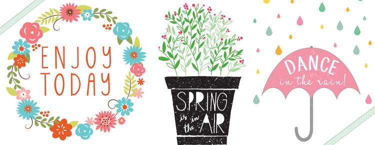 grafiki wiosnne i wielkanocne
