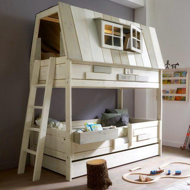 Wszystkie nowe Oryginalne łóżka do pokoju Twojego dziecka - inspiracje. - Madziof .pl HU01