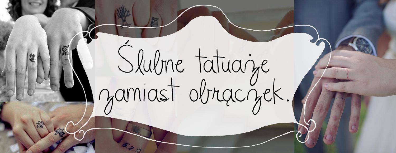 ślubne Tatuaże Zamiast Obrączek Inspiracje Madziof Pl