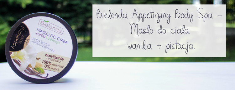 Bielenda appetizing body spa maslo do ciala wanilia i pistacja-1