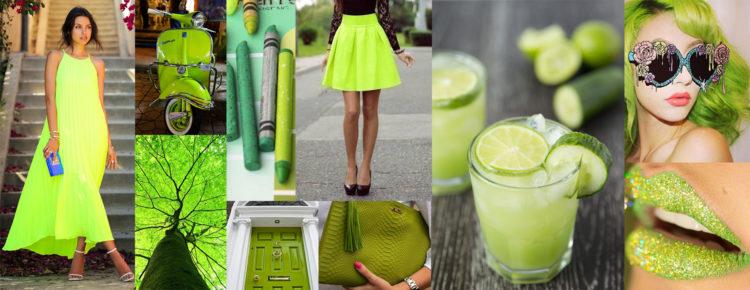 Jaki kolor dodatków do limonkowej sukienki glowne
