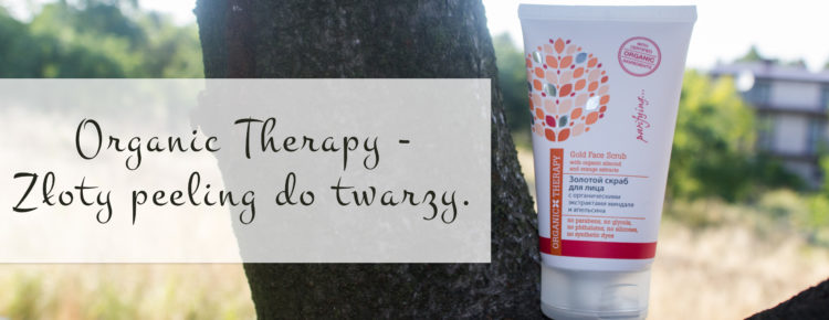 organic therapy zloty peeling do twarzy-1