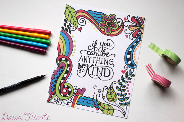 Whimsical Lettering