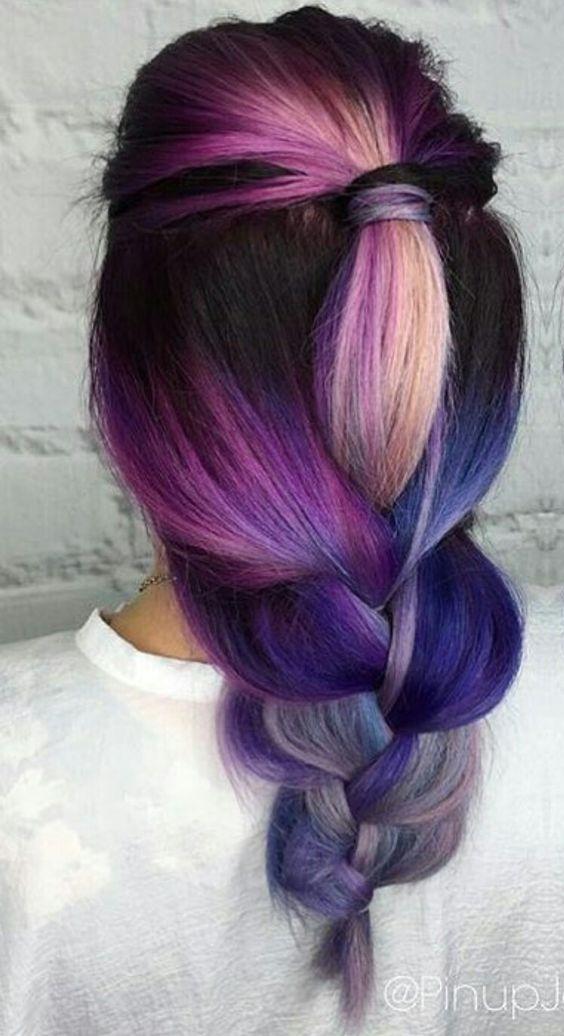 Pomysły Na Kolorowe Włosy Czyli Szalone Koloryzacje Na