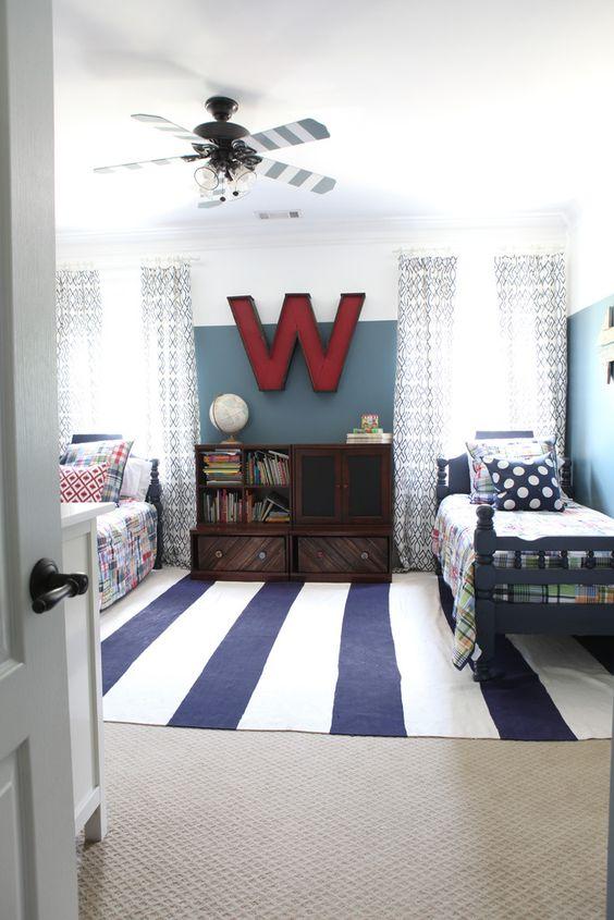 Pok j dla ch opca w mocnych kolorach inspiracje 15 year old boy bedroom ideas