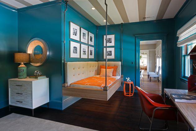 Pok j dla ch opca w mocnych kolorach inspiracje for Dulux boys bedroom ideas