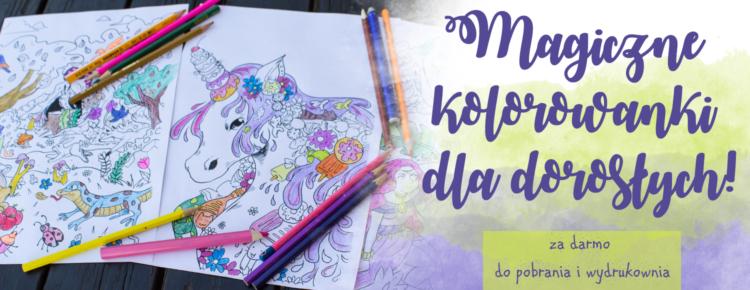 magiczne kolorowanki dla doroslych za darmo do pobrania i wydrukowania