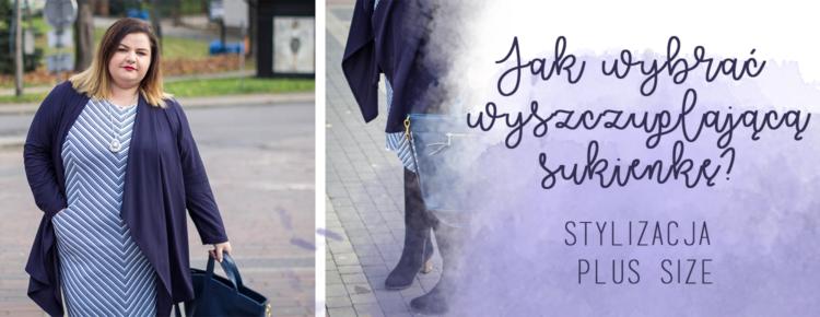 jak wybrac wyszczuplajaca sukienke stylizacja plus size vittoria giovani