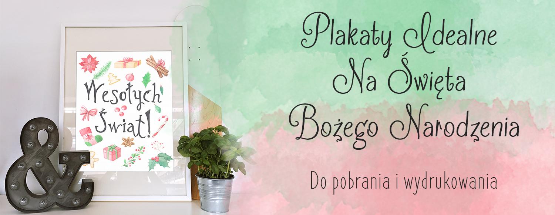 świąteczne Plakaty Do Druku Madziof Pl