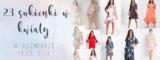 23 sukienki w kwiaty w rozmiarze plus size idealne na wiosnę i lato.