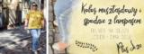 Kolor musztardowy i spodnie z lampasem – dwa trendy na sezon Jesień-Zima 2018. Stylizacja plus size.