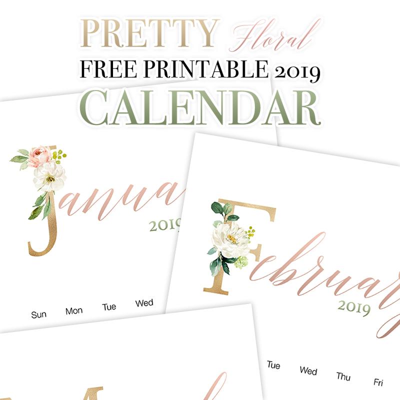 23 Kalendarze Na Rok 2019 Do Pobrania I Wydrukowania Za Darmo