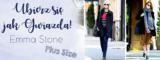 Ubierz się jak Gwiazda #3 – Emma Stone. Stylizacja plus size.